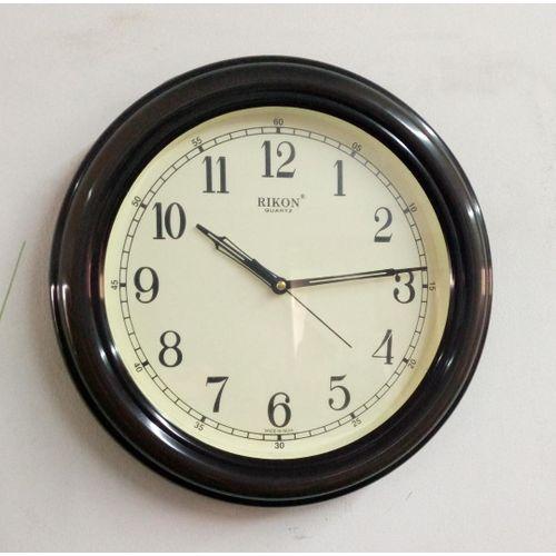 RIKON ROUND WALL CLOCK
