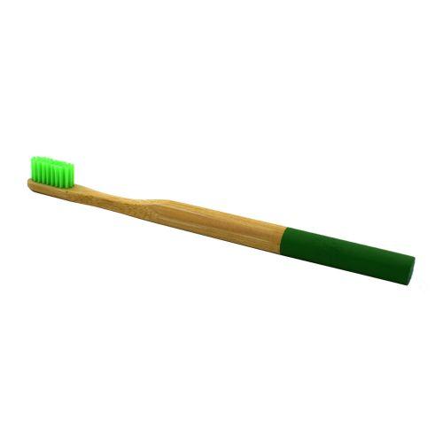 Fenhehu 1PC Pure Bamboo Natural Toothbrush Environmentally Friendly Eco Adult Medium