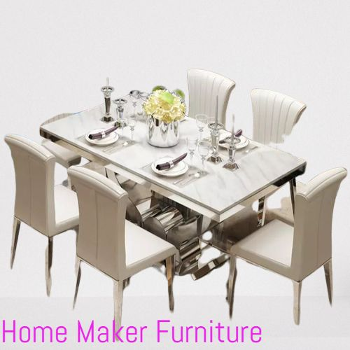 Gradel Marble Dining Furniture(Prepaid, Nationwide Delivery)