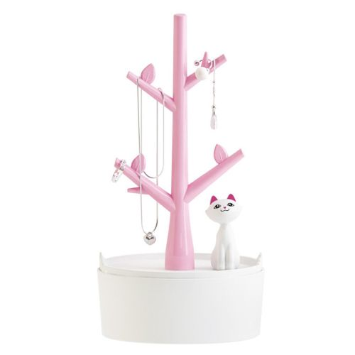Jewelry Display Stand Jewelry Pendant Earrings Necklace Display Stand Pink