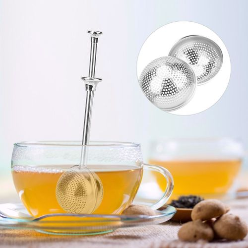 Stainless Steel Retractable Tea Ball Tea Infuser Strainer Filter Tea Making Accessories