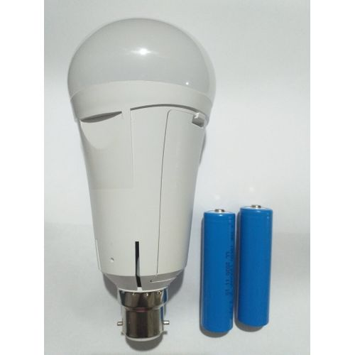 Emergency Led Bulbs 12w (Rechargeable) Pin 4 Packs