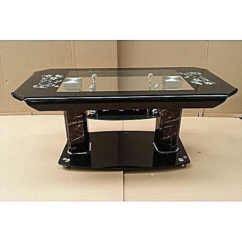 Tempered Glass Center Coffee Table Crv