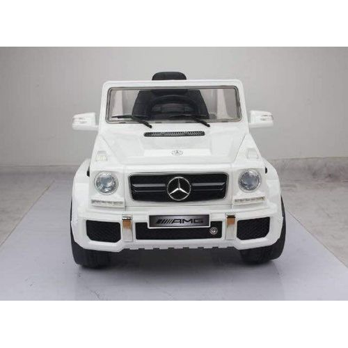 Luxury AMG Mercedes Wagon 12v Battery Operated Ride On Toy Car For Kids, White