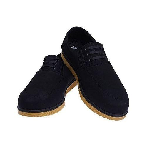 Elegant Men's Lace Up / Sneakers Black