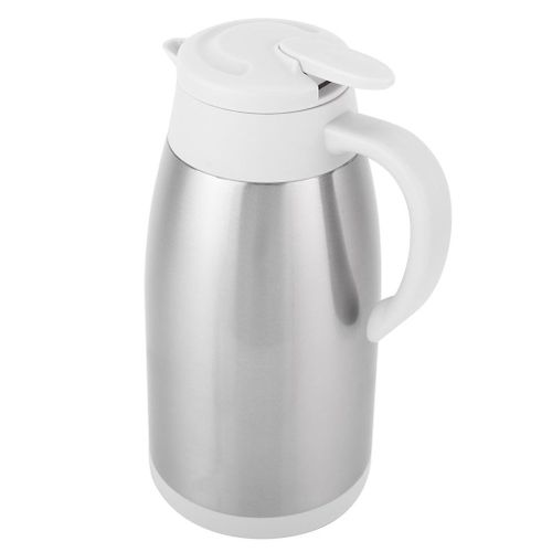 2000ml Thermal Coffee Carafe Stainless Steel Thermal Insulated Vacuum Coffee Jug Milk Pot For Home Office