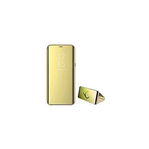Samsung Galaxy A80 Clear View Pouch Gold