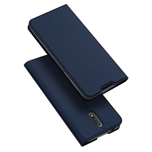 Nokia 2.3 Leather Case With Card Slot - Blue