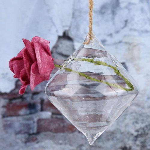 Transparent Glass Hanging Vase Hydroponic Terrarium Planter Flower Vase Decoration
