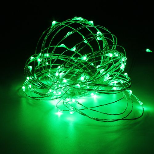 Smuxi 10M 100 LED String Light Waterproof Silver Wire String Fairy Light Party Decor Lamp Adapter Remote Controller DC12V