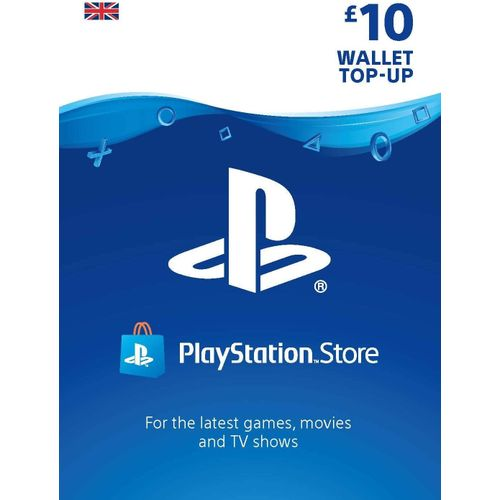 Sony PlayStation PSN Store £10 Gift Card For PS3/PS4/PSvita