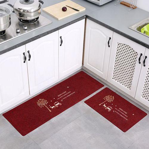Kitchen Bathroom Home Mat Decor Anti-slip Floor Rug Entrance Door