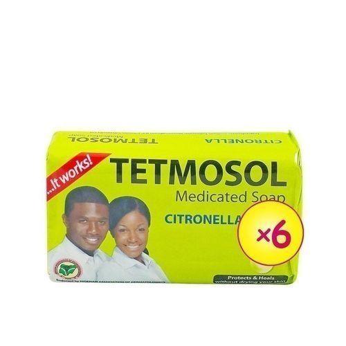 Tetmosol Citronella Medicated Soap 75g X6 Pcs