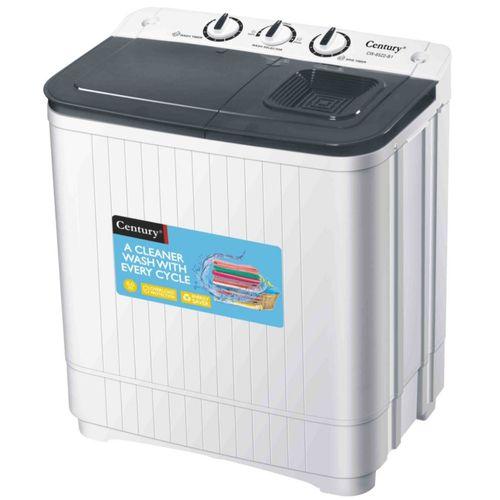 6KG Twin Tub Washing Machine - CW8522-B (6KG Wash And 4KG Spin)