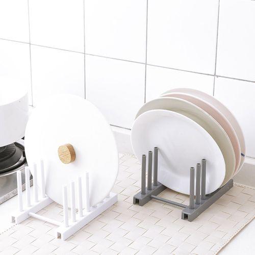 熊 1Pc Removable Dish Plate Drying Rack Draining Board Stand Holder For Kitchen Supplies