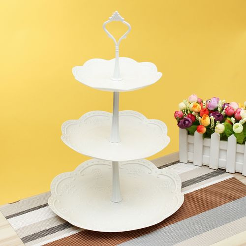 3 Tier Cupcake Stand Wedding Birthday Party Cake Display Tower