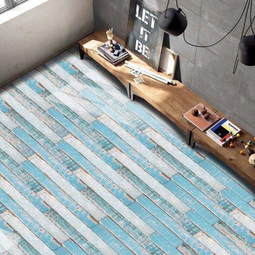 Lodaon 20x50cm Adhesive Tile Art Floor Wall Decal Sticker DIY Kitchen Bathroom Decor