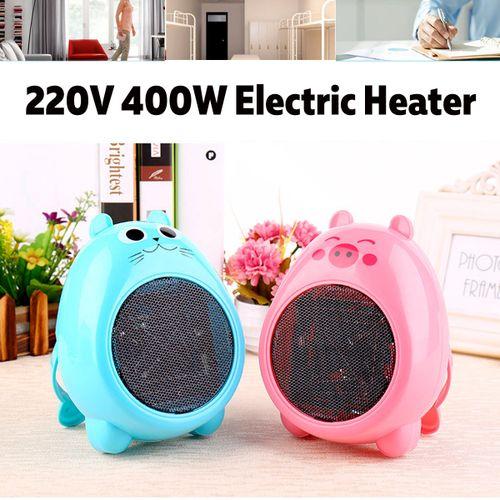 400W Mini Electric Winter Space Heater Air Warmer Fan Home Office Desk 220V