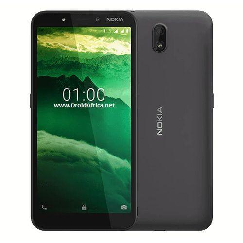 C1, 5.45-Inch (1GB RAM, 16GB ROM) Android 9.0 Pie (5MP + 5MP) Dual SIM - Charcoal
