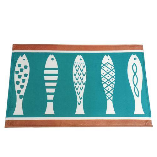 Non-slip Kitchen Floor Fish Indoor Carpet Mat Room Doormat Door