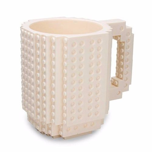 350ml Creative DIY Brick Mug Building Blocks Coffee Cup Block Puzzle Mug