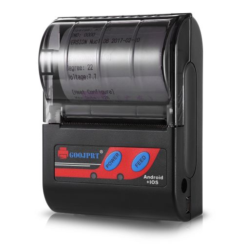 58MM Bluetooth Thermal Printer Portable Machine -BLACK