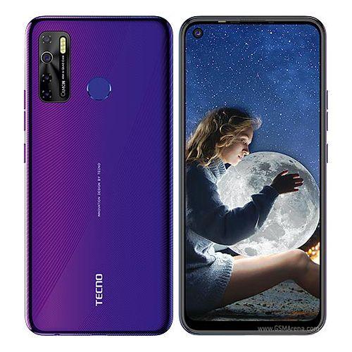 Tecno Camon 15 - Dual - 64GB ROM - 4GB RAM - 4G LTE - 48mp - 6.6''- 5000mAh - Fingerprint Fascinating Purple