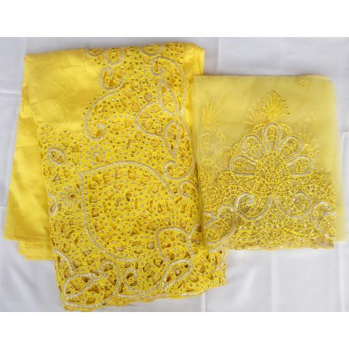 Indian George 2-in-1 Fabric - Side Border