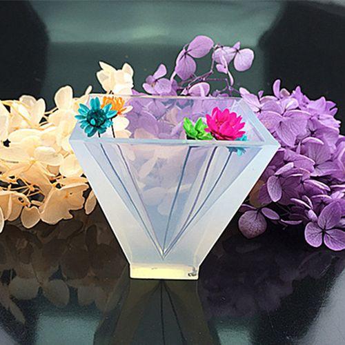 Pyramid Silicone Mould DIY Resin Decorative Craft JHome Decor Ornaments