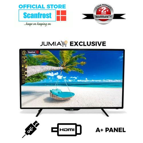 32-Inch LED Television SFLED32CL+ 2 Years Warranty- Black