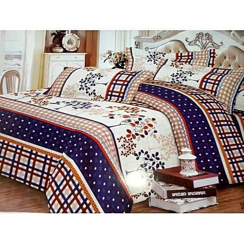 Bedspread / Bedsheet With Four Pillows