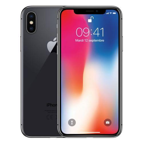 IPhone X 5.8-Inches Super AMOLED (3GB RAM, 64GB ROM) IOS 11.1.1, (12MP + 12MP) + 7MP 4G LTE Smartphone - Space Grey