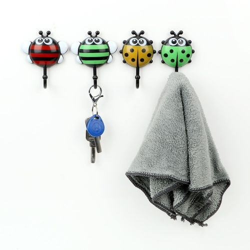 Ladybug Bee Type Cookware Hook Suction Cup Tableware
