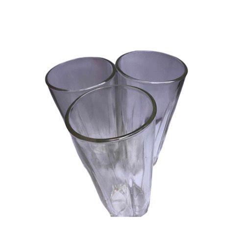 Breakable Glass Cups - 3pcs