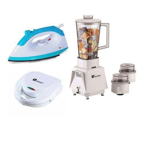 Blender +Toaster + Iron Bundle
