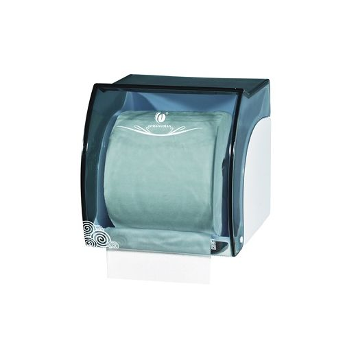 CHUANGDIAN Toilet Mini Type Roll Tissue Dispenser Wall Mounted Toilet Paper Holder Bathroom Tissue Case