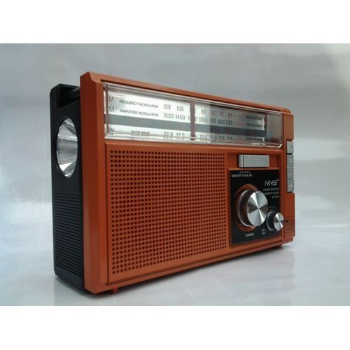 Rechargeable World Receiver Radio With Touch Light