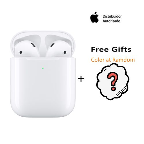 Apple AIRPODS2 With Wireless Charging Case (Free Gift)