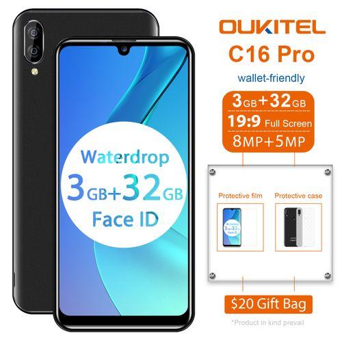 "C16 Pro 5.72"" 3GB 32GB 4G 8MP+2MP 2600mAh Fingerprint EU - Black"