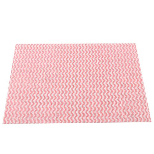 50pcs Disposable Non-stick Oil Non-woven Fabric Duster Dish Cloth Hand Towel For Home Kitchen