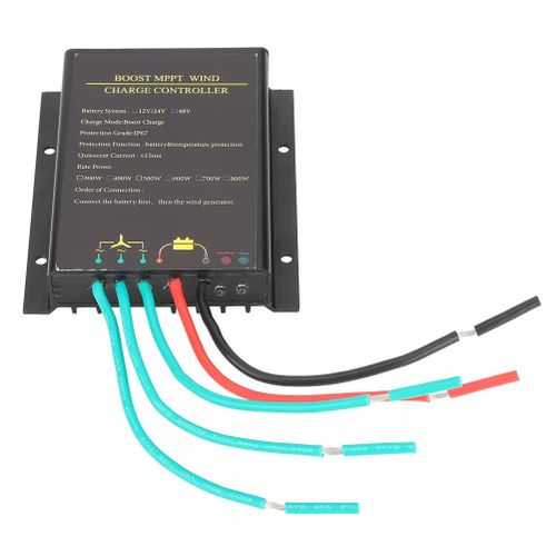 48V Waterproof Wind Turbine Controller MPPT Charge Controller 800W Wind Power Regulator