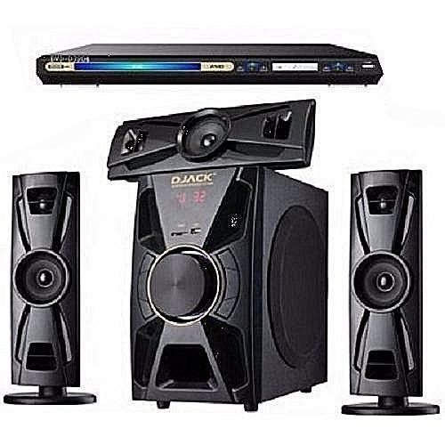 HOME THEATER BLUETOOTH SYSTEM WITH USB FUNCTION AND DVD PLAYER DJ-403