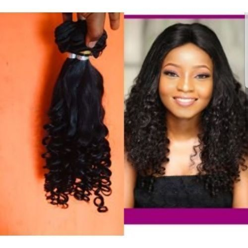 Tippy Curls Hair- 4 Bundles- Full Hair Amount