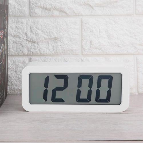 Digital Alarm Clock Electronic LCD MusicTable Hanging Clock