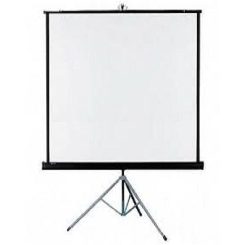 """96"""" X 96"""" Projector Screen With Tripod Stand"""