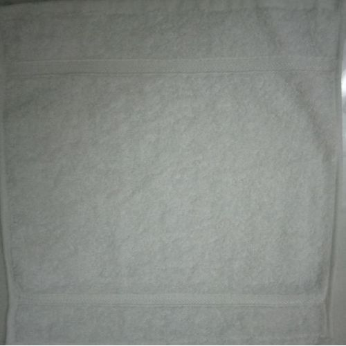 12 Pieces Face Towel -- (Pack Of 12) White