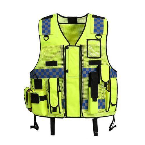 Tactic Security Duty Patrol Vest Hi Viz Sia Industry Door Staff