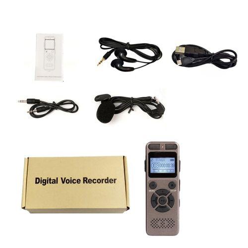 Multifunctional Recording Pen 8GB Flash USB Digital Audio Voice Recorder Light Brown