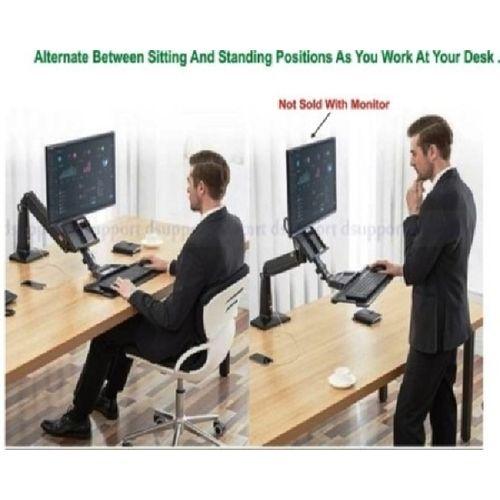 SIT-STAND COMPUTER LCD LED MONITOR DESKTOP WORKSTATION