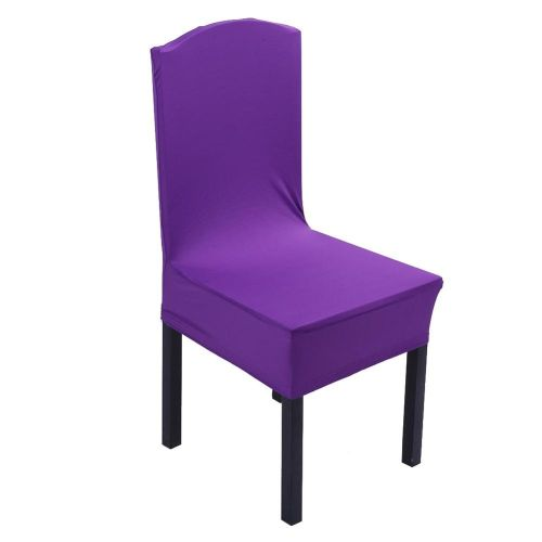 Elastic Chair Covers Home Seat Slipcover Decoration #Red Violet